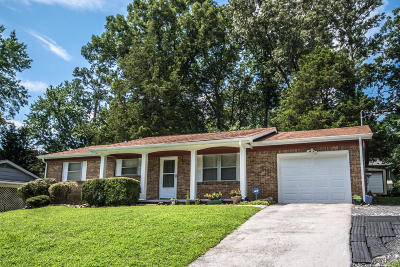 Hixson Single Family Home Contingent: 1366 Meadowood Dr