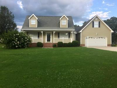 Ringgold Single Family Home Contingent: 590 Debbie Ln