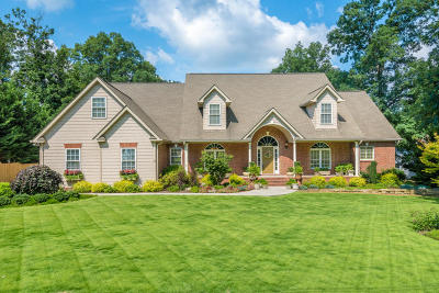 Soddy Daisy Single Family Home Contingent: 9009 Brow Lake Rd