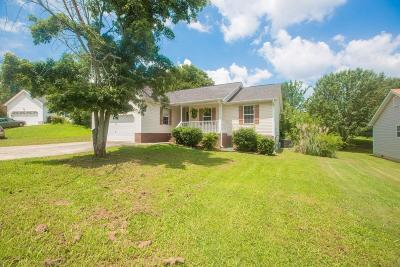 Ringgold Single Family Home Contingent: 102 Night Shade Ln