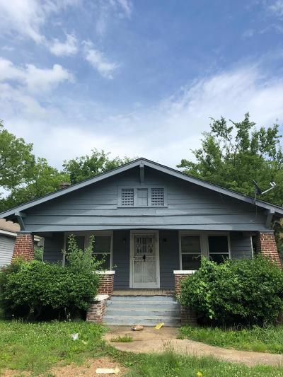 Chattanooga Single Family Home For Sale: 1812 S Holly St