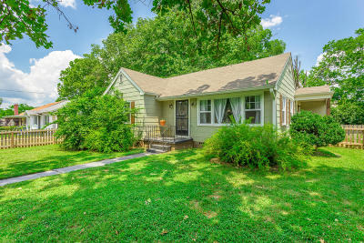 Chattanooga Single Family Home Contingent: 2411 Ivy St
