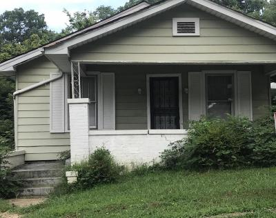 Chattanooga Single Family Home For Sale: 2727 Glass St