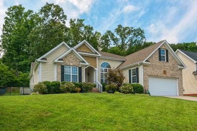 Ooltewah Single Family Home Contingent: 5712 Caney Ridge Cir