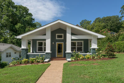 Chattanooga Single Family Home Contingent: 1220 Hanover St