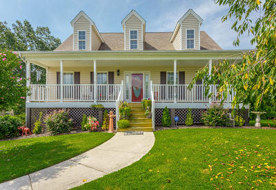 Ooltewah Single Family Home Contingent: 7069 British Rd