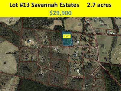 Dayton Residential Lots & Land For Sale: 280 Savannah Ln