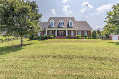Ringgold Single Family Home For Sale: 2781 Burning Bush Rd