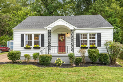 Chattanooga TN Single Family Home For Sale: $165,000