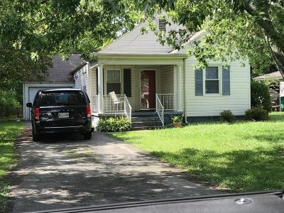 Chattanooga TN Single Family Home For Sale: $127,500