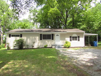 Chattanooga TN Single Family Home For Sale: $124,900