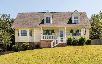 Soddy Daisy Single Family Home Contingent: 10121 Rolling Wind Dr
