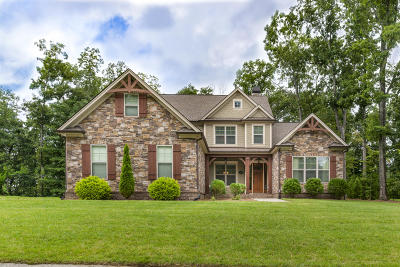 Signal Mountain Single Family Home For Sale: 2505 Campaign Tr