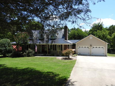 Charleston Single Family Home Contingent: 161 NW Potter Place Rd