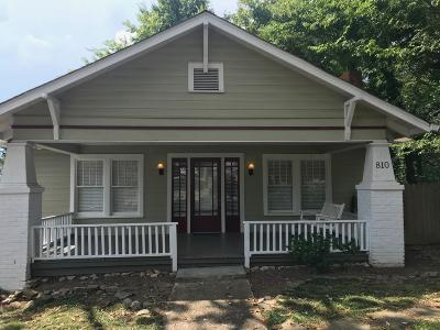 Chattanooga Single Family Home For Sale: 810 Mount Vernon