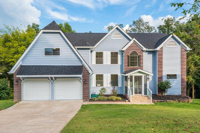 Chattanooga Single Family Home For Sale: 608 Swansons Ridge Rd