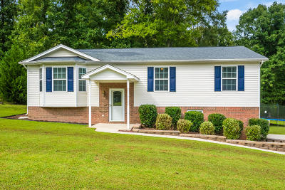 Soddy Daisy Single Family Home Contingent: 1279 Pendall Ln