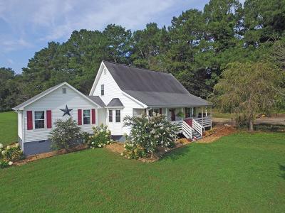 Cohutta Single Family Home For Sale: 330 Strain Rd