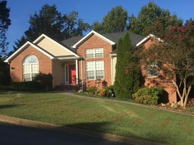 Ooltewah Single Family Home Contingent: 6206 Flag Point Dr