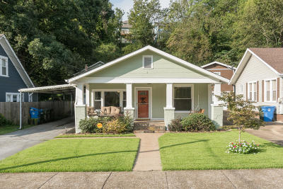 Chattanooga Single Family Home Contingent: 1130 Dartmouth St