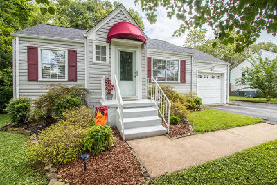 Chattanooga Single Family Home Contingent: 718 Pyron Ln