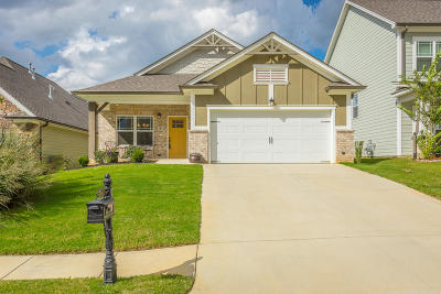 Hixson Single Family Home Contingent: 5490 Bungalow Cir