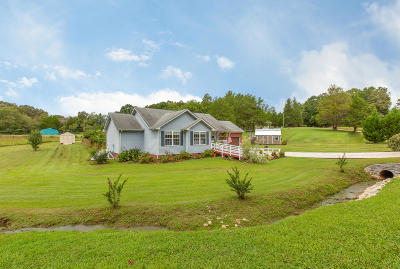 Soddy Daisy Single Family Home Contingent: 14019 Mt Tabor Rd