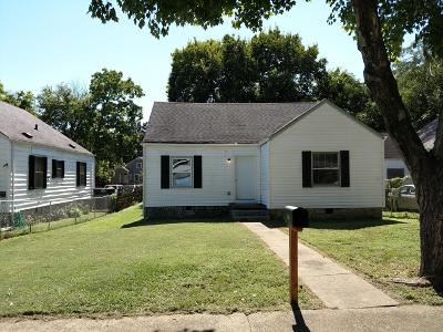 Chattanooga Single Family Home Contingent: 2210 Chamberlain Ave