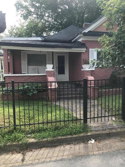 Chattanooga Single Family Home For Sale: 712 N Holly St
