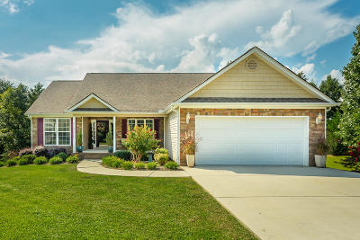 Soddy Daisy Single Family Home Contingent: 10934 Thatcher Crest Dr