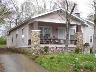 Chattanooga TN Single Family Home For Sale: $67,500