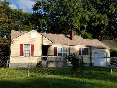 Chattanooga Single Family Home For Sale: 120 N Lovell Ave