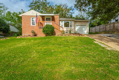 Chattanooga Single Family Home Contingent: 3719 Occonechee Tr