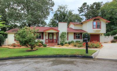 Chattanooga Single Family Home For Sale: 3822 Jarren Ct