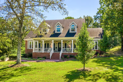 Chattanooga Single Family Home For Sale: 9006 Stoney Mountain Dr