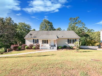 Ringgold Single Family Home Contingent: 156 Cleo Cir