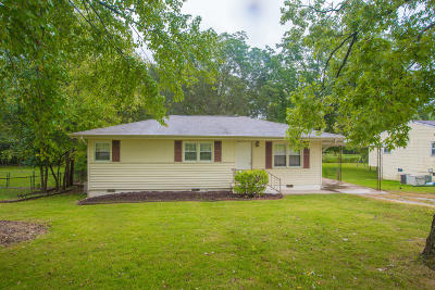 Chattanooga Single Family Home Contingent: 4610 Carr Ter