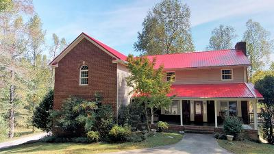 Single Family Home For Sale: 1500 Sloans Gap Rd