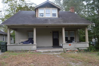 Chattanooga TN Single Family Home For Sale: $69,000