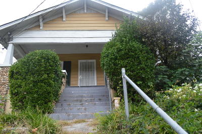 Chattanooga TN Single Family Home For Sale: $62,000