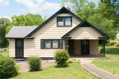 Chattanooga TN Single Family Home For Sale: $85,000
