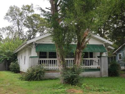 Chattanooga Single Family Home For Sale: 2710 Curtis St