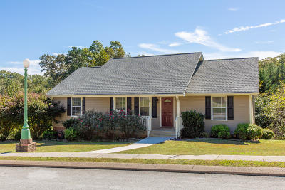 Soddy Daisy Single Family Home Contingent: 9715 Autumn View Cir