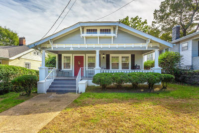 Chattanooga Single Family Home For Sale: 814 Barton Ave