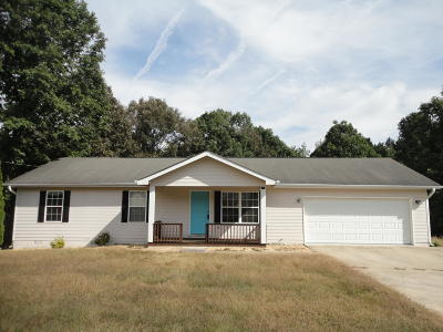 Ringgold Single Family Home Contingent: 105 Wildfire Dr