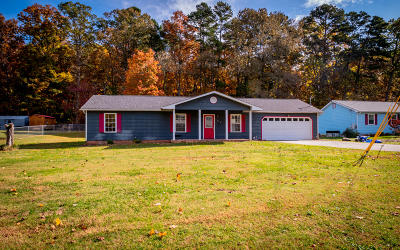 Ringgold Single Family Home Contingent: 294 Hickory Dr