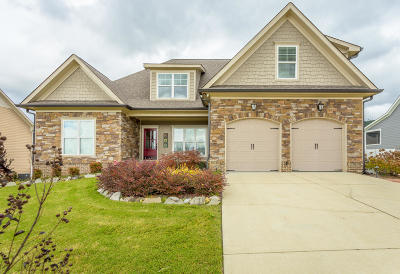 Ooltewah Single Family Home Contingent: 8739 Seven Lakes Dr