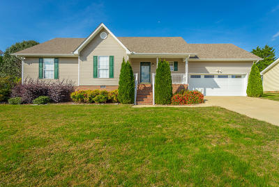 Ringgold Single Family Home Contingent: 247 Misty Ridge Ln