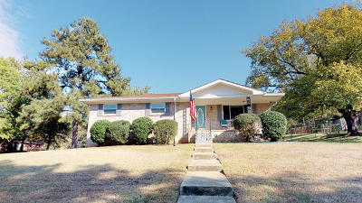 Chattanooga Single Family Home Contingent: 7728 Holiday Hills Cir