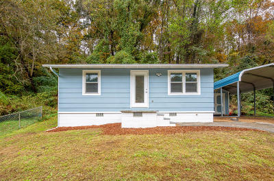 Chattanooga Single Family Home Contingent: 1033 Pineville Rd